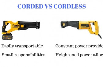 Corded or Cordless Reciprocating Saws