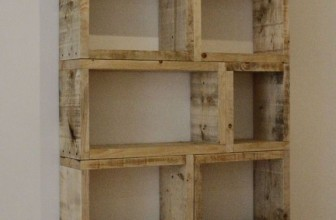 Simple Cube Bookcase Woodworking Tutorial