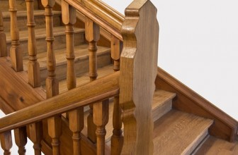 Easy Banister Woodworking Project