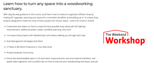 Woodworking for Mere Mortals woodworking classes